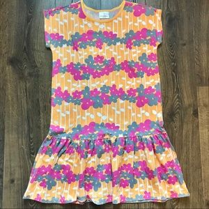 Hanna Andersson Cotton Floral Sun Dress LIKE NEW